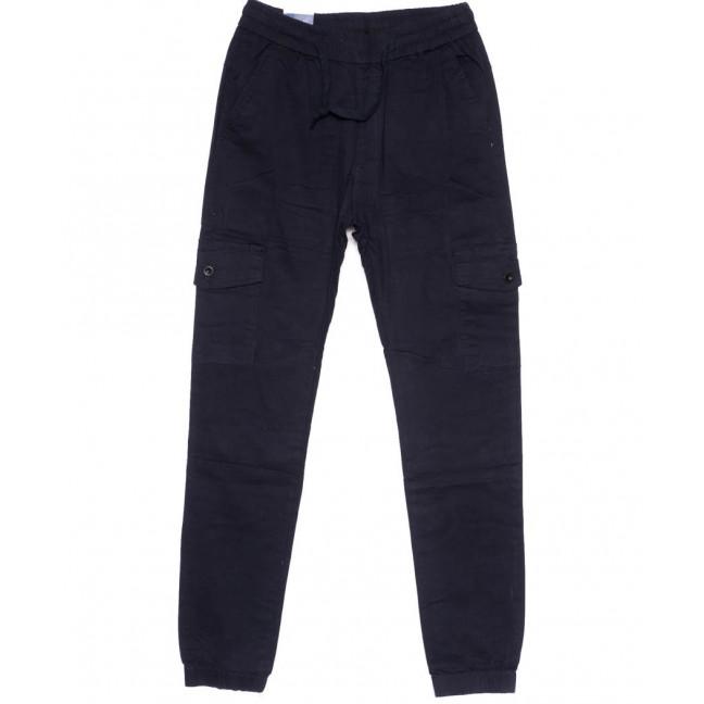 6610-2 REIGOUSE джинсы мужские на резинке синие осенние стрейчевые (31-38, 8 ед) REIGOUSE: артикул 1099606