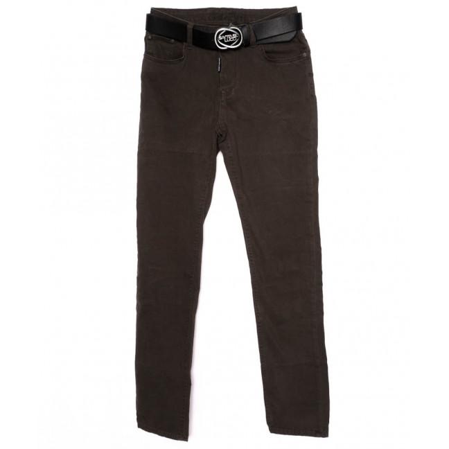 0313-B-482 Santa Lucci брюки женские батальные коричневые осенние стрейчевые (29-34, 6 ед.) Santa Lucci: артикул 1098785