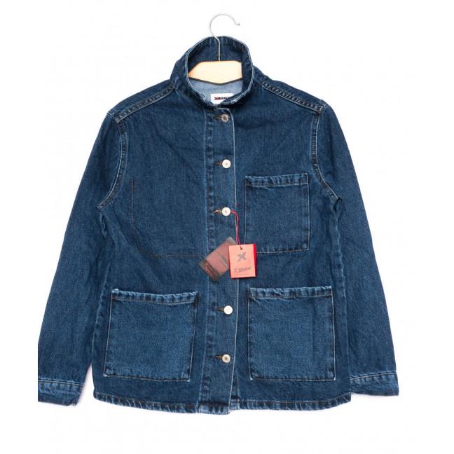 0001 (C01) XRAY куртка джинсовая женская синяя осенняя котоновая (34-40, евро, 7 ед.) XRAY: артикул 1099286