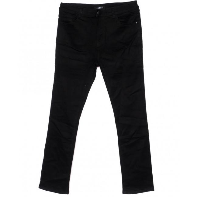 1448 Lady N джинсы женские батальные черные осенние стрейчевые (32-42, 6 ед.) Lady N: артикул 1099258