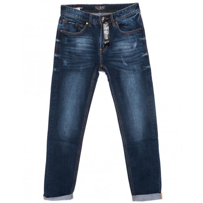 8002 Mark Walker джинсы мужские с царапками с подкатом осенние стрейчевые (30-38, 8 ед.) Mark Walker: артикул 1099121