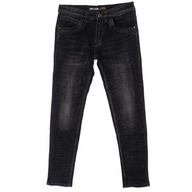 0006 Mr.King джинсы мужские молодежные темно-серые осенние стрейч-котон (28-34, 8 ед.) Mr.King: артикул 1098943