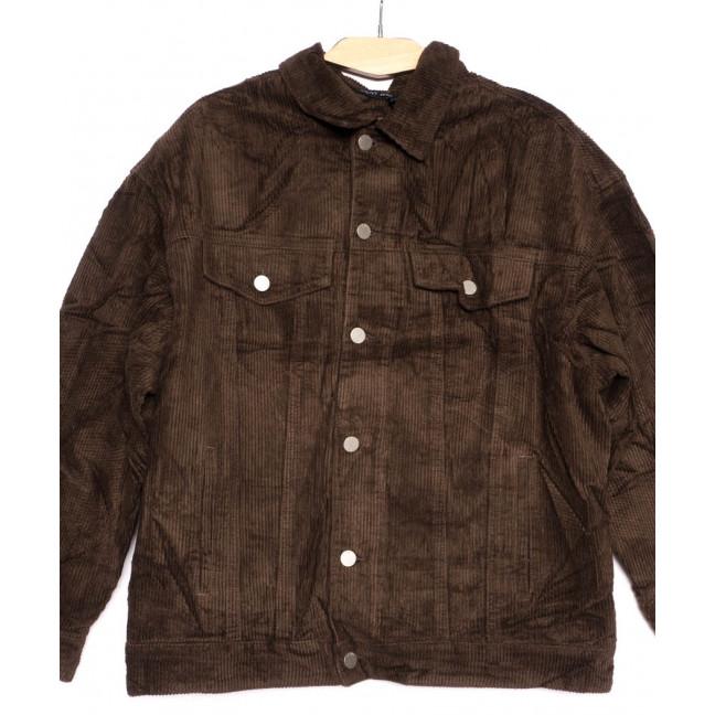 2035-3 X куртка женская вельветовая осенняя стрейчевая (S-2XL, 5 ед.) X: артикул 1100133
