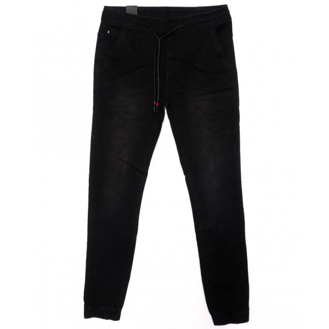 0012-0274-X LS джинсы мужские на резинке черные осенние стрейчевые (29-36, 8 ед.) LS: артикул 1098823