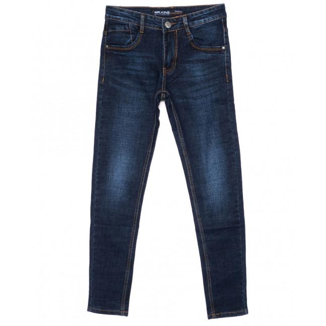 9009 Mr.King джинсы мужские молодежные синие осенние стрейчевые (28-34, 8 ед.) Mr.King: артикул 1099395
