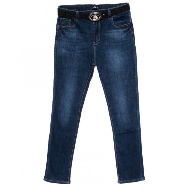 1440 Lady N джинсы женские батальные синие осенние стрейчевые (30-36, 6 ед.) Lady N: артикул 1099041