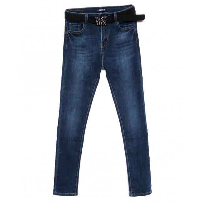 1438 Lady N джинсы женские батальные синие осенние стрейчевые (30-36, 6 ед.) Lady N: артикул 1099039