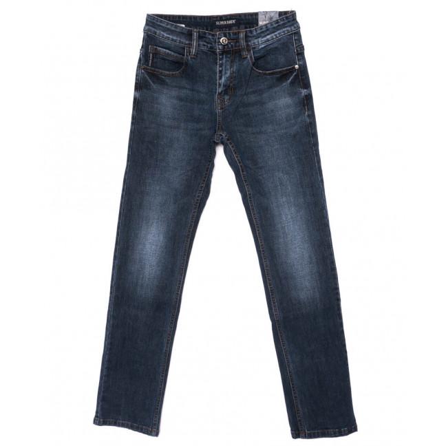 6001 Super Data джинсы мужские синие осенние стрейч-котон (29-38, 8 ед.) Super Data: артикул 1098934