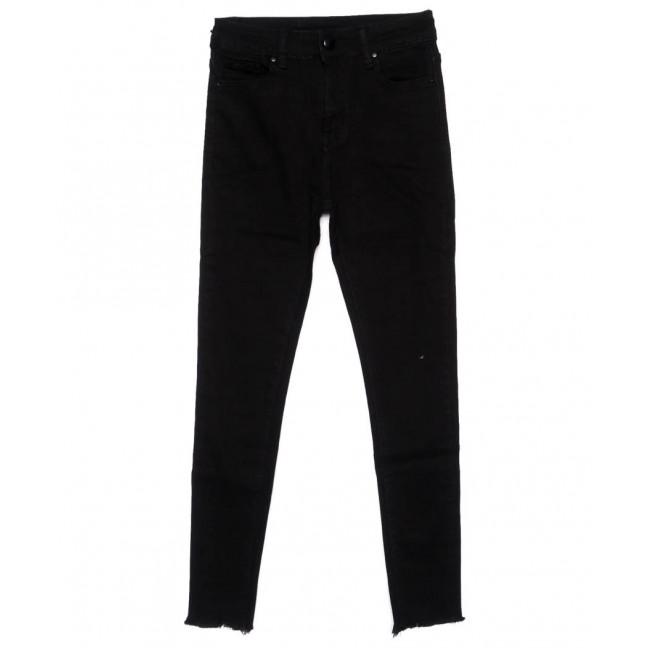 3397 New jeans американка черная осенняя стрейчевая (25-30, 6 ед.) New Jeans: артикул 1099324