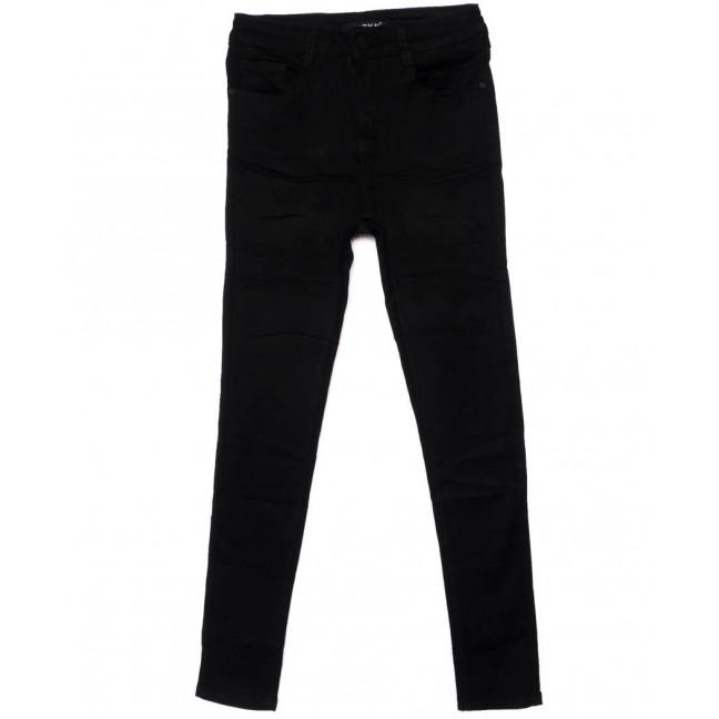 1445 Lady N джинсы женские черные осенние стрейчевые (25-30, 6 ед.) Lady N: артикул 1099049