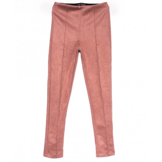 3009-2 Belli лосины замшевые розовые осенние стрейчевые (S-XL, 4 ед.) Belli: артикул 1100250