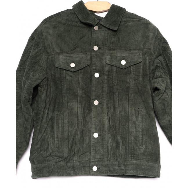 2035-2 X куртка женская вельветовая осенняя стрейчевая (S-2XL, 5 ед.) X: артикул 1100134