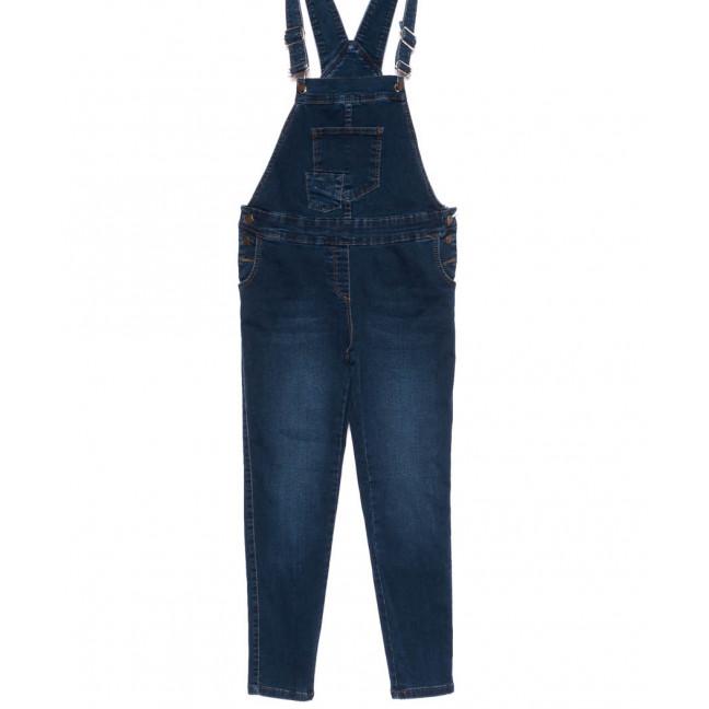 3337 YMR комбинезон джинсовый синий осенний стрейчевый (S-XL, 4 ед.) YMR: артикул 1099106