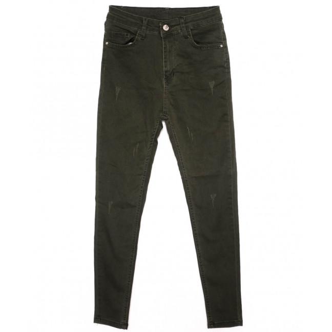 2001 Forgina джинсы женские хаки осенние стрейчевые (26-31, 6 ед.) Forgina: артикул 1098899