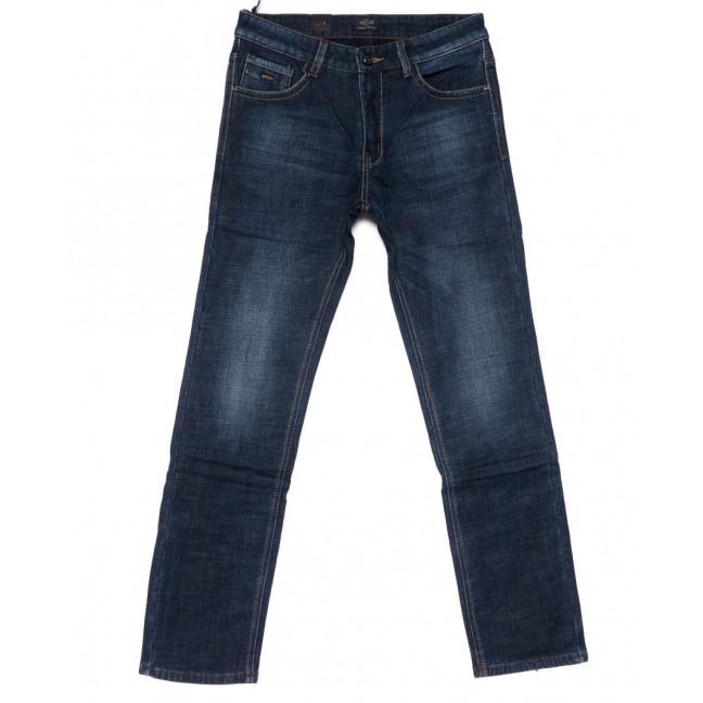 8221 FHOUS джинсы мужские синие на флисе зимние стрейчевые (29-36, 8 ед.)  FHOUS: артикул 1101625