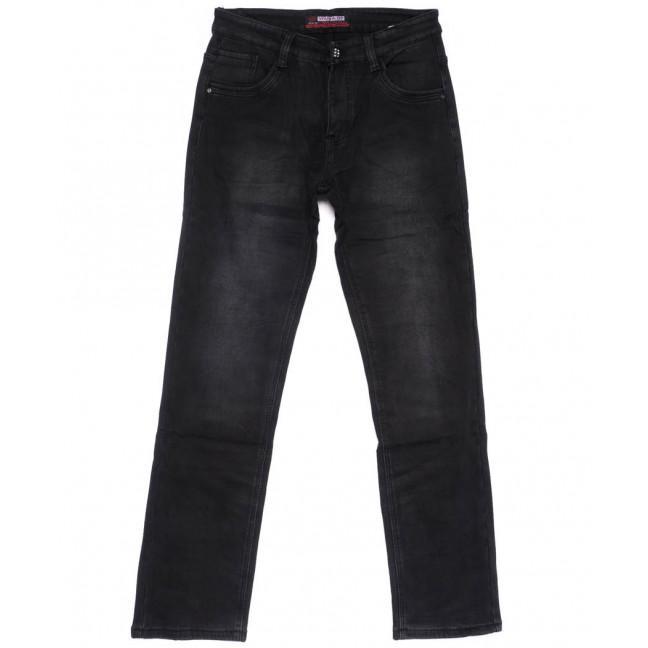 7122 Vouma-Up джинсы мужские темно-серые на флисе зимние стрейчевые (29-38, 8 ед.) Vouma-Up: артикул 1101076