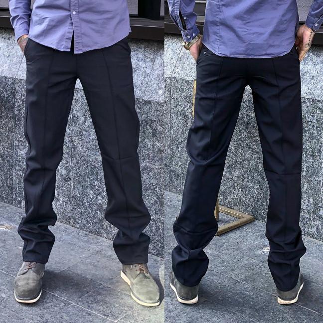 1269-R399 Prodigy брюки мужские темно-серые весенние стрейчевые (29-35, 7 ед.) Prodigy: артикул 1106775