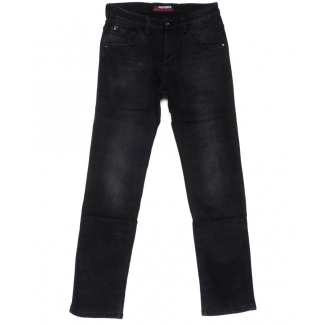 7125 Vouma-Up джинсы мужские молодежные темно-серые на флисе зимние стрейчевые (28-36, 8 ед.) Vouma-Up: артикул 1101075