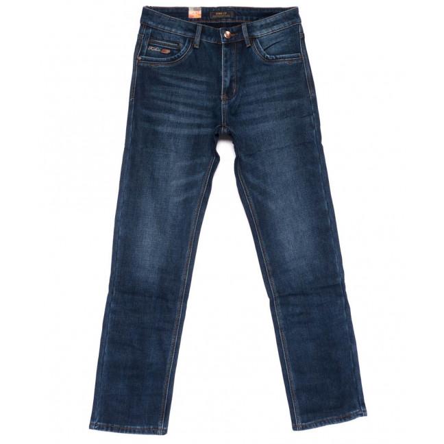 18240 Vouma-Up джинсы мужские полубатальные на флисе зимние стрейчевые (32-42, 8 ед.) Vouma-Up: артикул 1101084