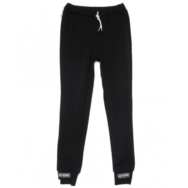 0224-черный X брюки женские черные осенние стрейчевые (42-48, 4 ед) X: артикул 1101465