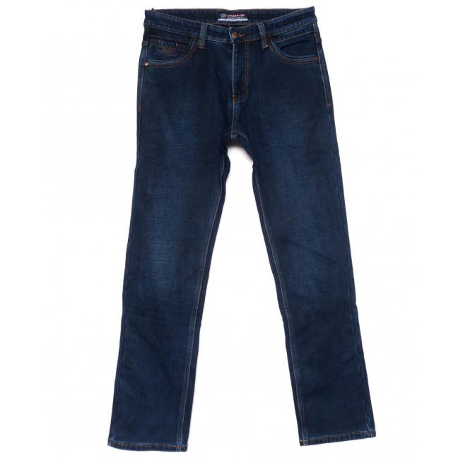 8210 Vouma-Up джинсы мужские полубатальные синие на флисе зимние стрейчевые (32-40, 8 ед.) Vouma-Up: артикул 1101413
