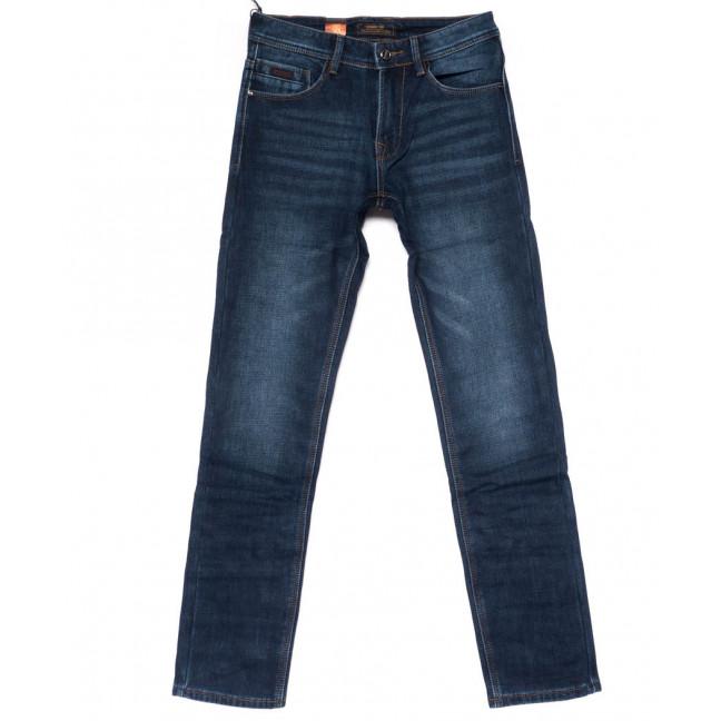18241 Vouma-Up джинсы мужские синие на флисе зимние стрейчевые (29-38, 8 ед.) Vouma-Up: артикул 1101628