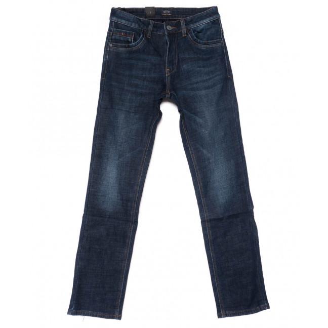 8223 FHOUS джинсы мужские синие на флисе зимние стрейчевые (30-38, 8 ед.)  FHOUS: артикул 1101629