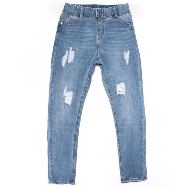 3610 New jeans мом голубой с царапками весенний коттоновый (25-30, 6 ед.) New Jeans: артикул 1102243