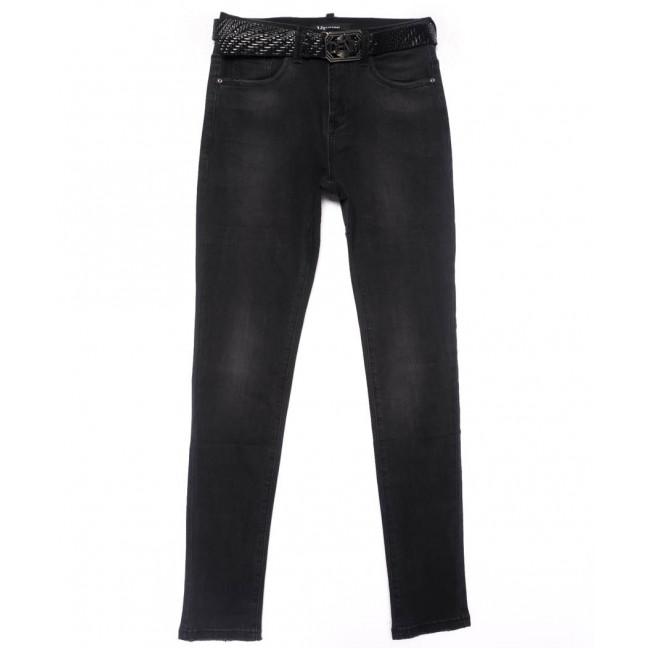81366 Vanver джинсы женские полубатальные темно-серые осенние стрейчевые (28-33, 6 ед.) Vanver: артикул 1102359
