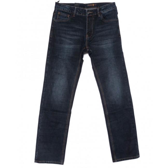 8233 Fhous джинсы мужские полубатальные синие осенние стрейчевые (32-38, 8 ед.) FHOUS: артикул 1102382