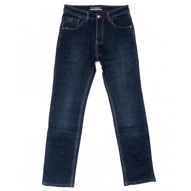 8211 Vouma-Up джинсы мужские полубатальные синие на флисе зимние стрейчевые (32-42, 8 ед.) Vouma-Up: артикул 1102092