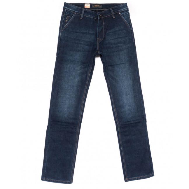 18244 Vouma-Up джинсы мужские синие на флисе зимние стрейчевые (29-38. 8 ед.) Vouma-Up: артикул 1102381