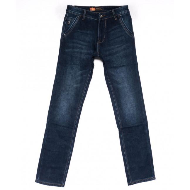 18246 Vouma-Up джинсы мужские синие на флисе зимние стрейчевые (29-36. 8 ед.) Vouma-Up: артикул 1102380