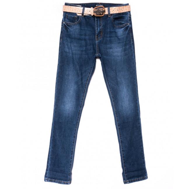 9421 LDM джинсы женские полубатальные синие осенние стрейчевые (28-33, 6 ед.) LDM: артикул 1102041