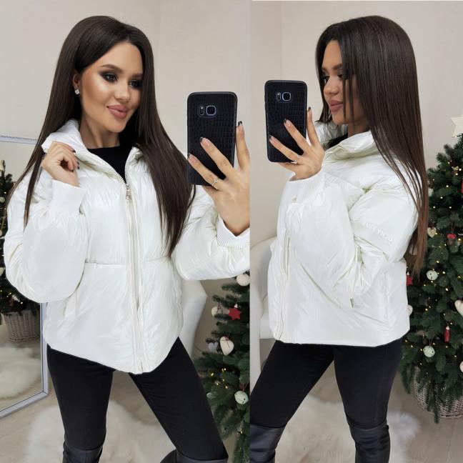 0833-01 Lucky Five куртка женская молочная демисезонная (M,L,XL 3 ед.) Lucky Five: артикул 1102387
