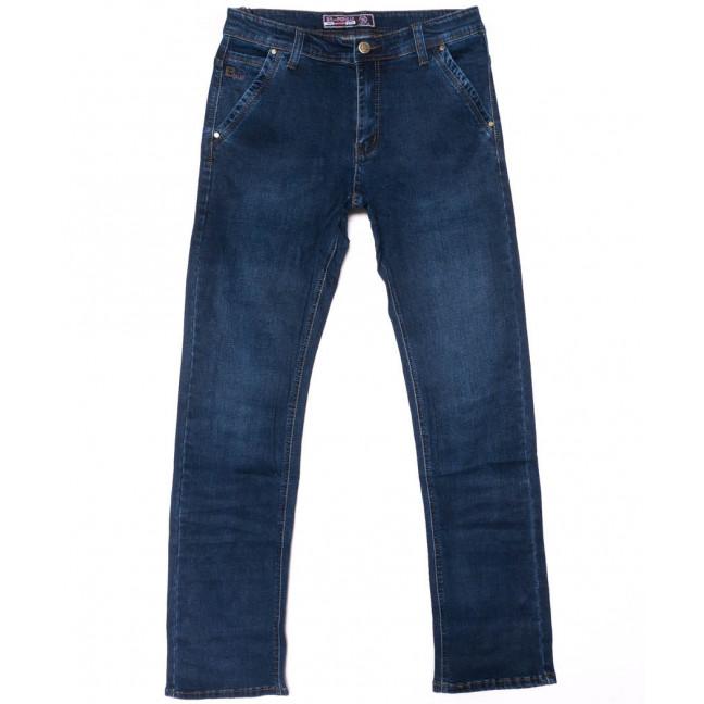 6603 Bagrbo джинсы мужские полубатальные синие осенние стрейчевые (32-38, 8 ед.) Bagrbo: артикул 1102031