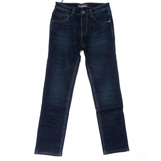 8208 Vouma-Up джинсы мужские синие на флисе зимние стрейчевые (29-38, 8 ед.) Vouma-Up: артикул 1102090