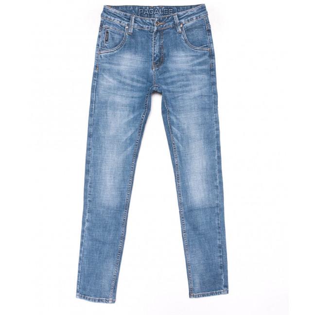 6902 Pagalee Джинсы мужские синие молодежные весенние стрейчевые (28-36, 8 ед.) Pagalee: артикул 1102655
