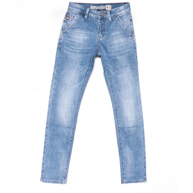 9070 Dsqatard Джинсы мужские синие молодежные весенние стрейчевые (28-34, 8 ед.) Dsqatard: артикул 1102678