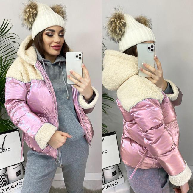 0627-02 розовая Ruixi куртка женская демисезонная (M-XL. 3 ед.) Ruixi: артикул 1102400