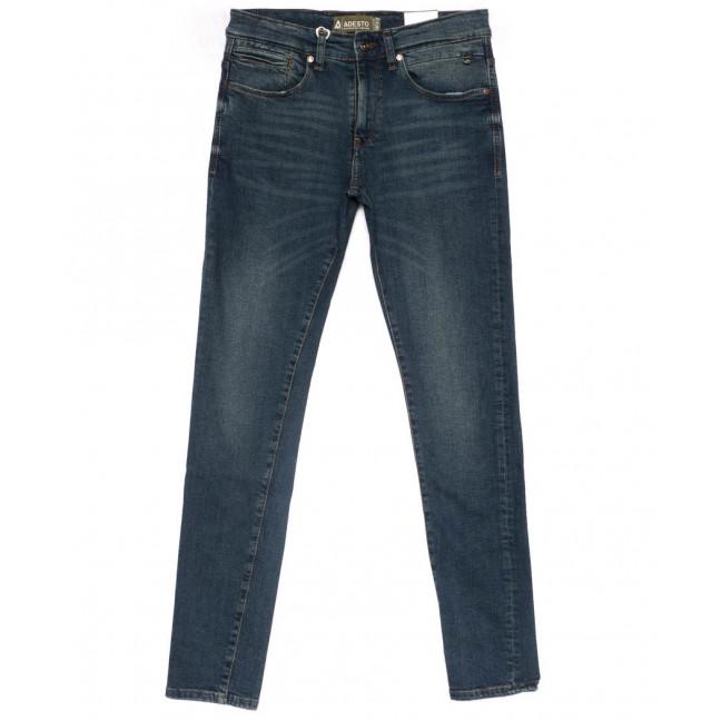 1903086 Dark Blue Adesto джинсы мужские молодежные синие весенние стрейчевые (28-34, 8 ед.) Adesto: артикул 1103263