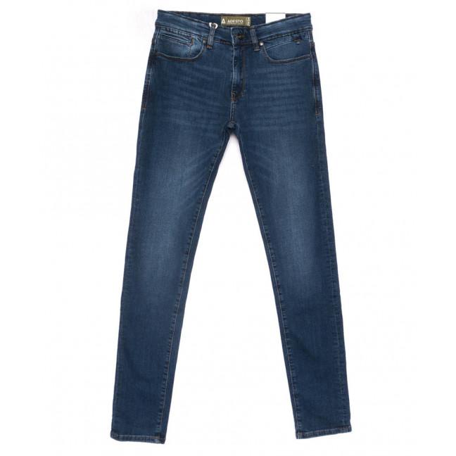 1810067 Dark Blue Adesto джинсы мужские молодежные синие весенние стрейчевые (28-34, 8 ед.) Adesto: артикул 1103269
