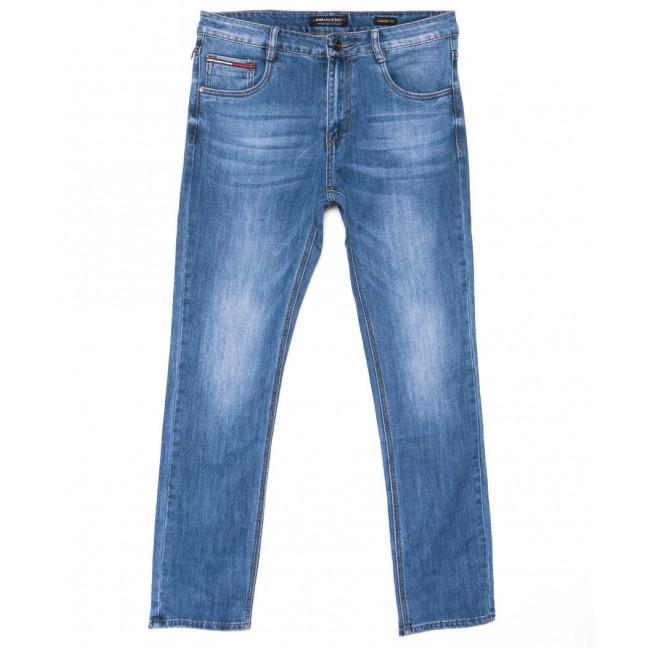 9065 Dimarkis day джинсы мужские синие полубатальные весенние стрейчевые(32-42, 8 ед.) Dimarkis Day: артикул 1102843