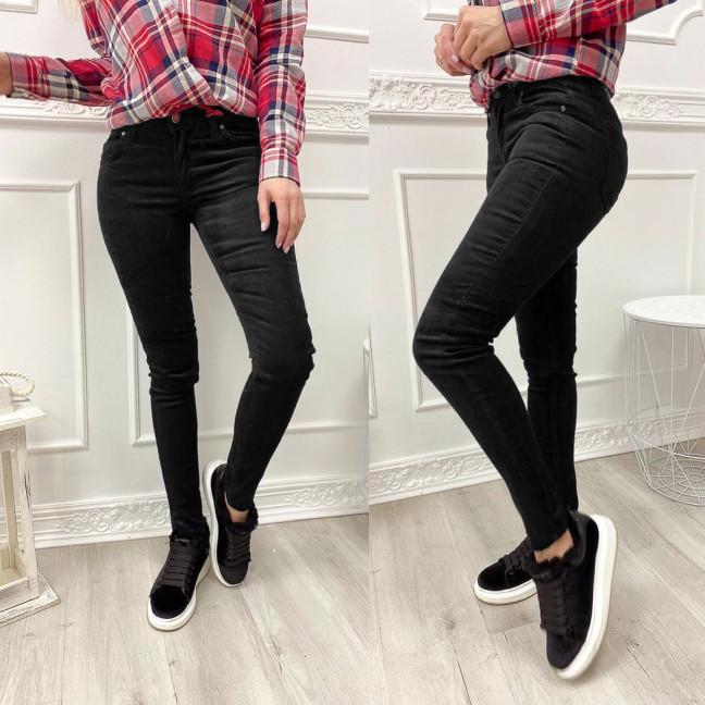 2652 Xray джинсы женские вельветовые черные осенние стрейчевые (34-42, евро, 5 ед.) XRAY: артикул 1102688
