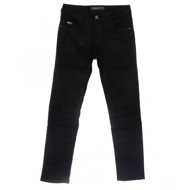 4038 Fangsida джинсы мужские полубатальные черные весенние стрейчевые (32-38, 8 ед.)  Fangsida: артикул 1102860