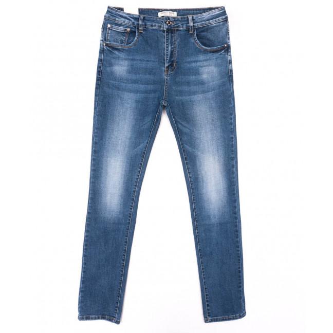0329 Forest Jeans джинсы женские батальные синие весенние стрейчевые (31-38, 6 ед.) Forest Jeans: артикул 1103114-1