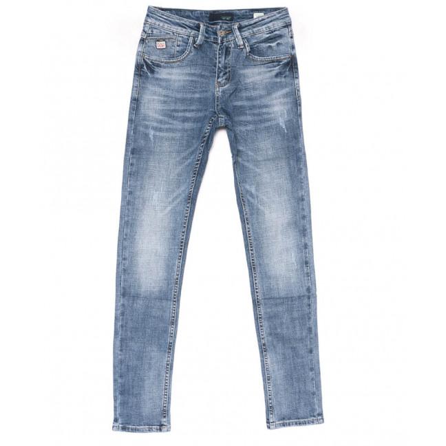 9043 Dsqatard Джинсы мужские синие молодежные весенние стрейчевые (27-34, 8 ед.) Dsqatard: артикул 1102667
