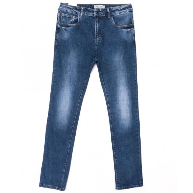 0328 Forest Jeans джинсы женские батальные синие весенние стрейчевые (30-36, 6 ед.) Forest Jeans: артикул 1103112-1