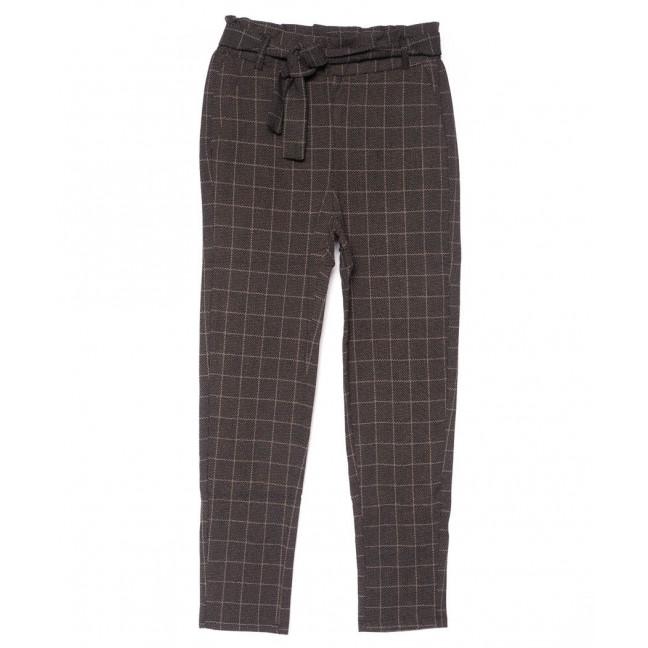 0778-2 коричневые Yimeite брюки женские в клетку осенние стрейчевые (25-30, 6 ед.) Yimeite: артикул 1102518