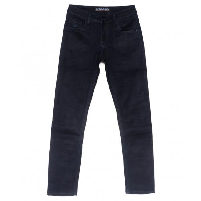 4050 Fangsida джинсы мужские темно-синие весенние стрейчевые (31-38, 8 ед.)  Fangsida: артикул 1102861